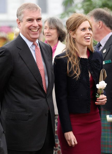 Prince Andrew With Daughter Princess Beatrice Prince Andrew