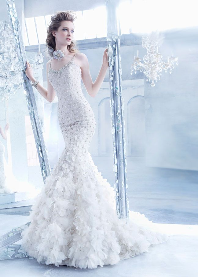Lazaro Wedding Dresses 2014 Fall Collection   MODwedding