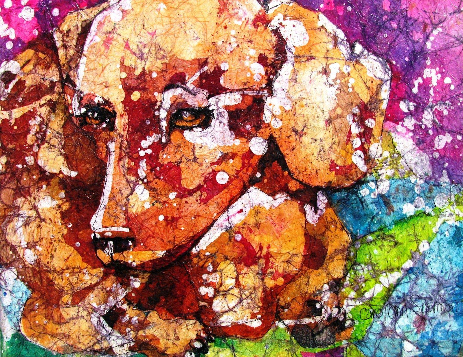 Art & Frame of Sarasota: New Low Price on Watercolor Batik on Rice ...