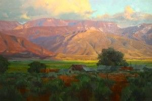 Sanpete Sunset by David Koch | The Mission Gallery