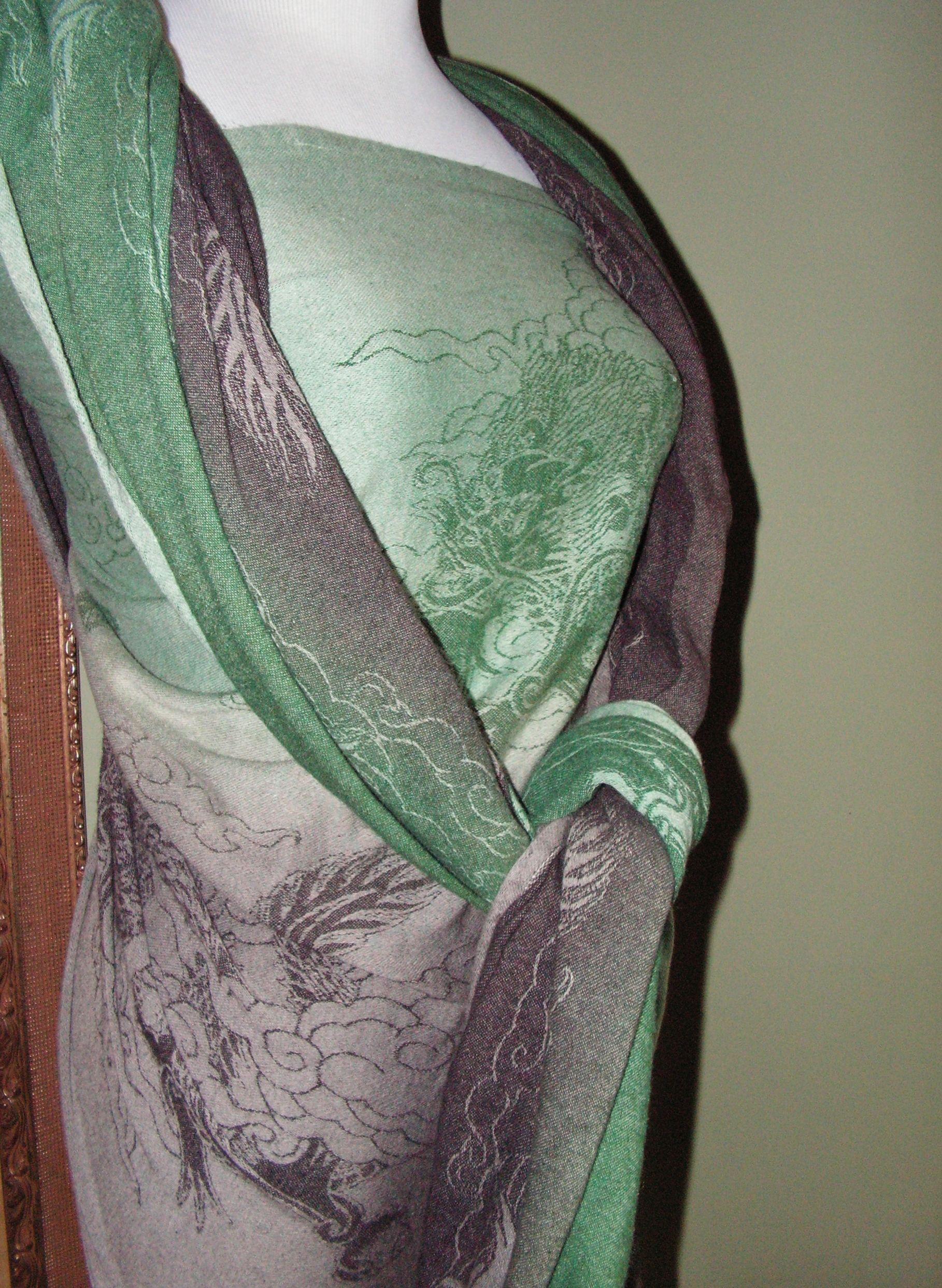 Oscha Shui Long Celandine 2 color acid dye gradation | The Pink ...
