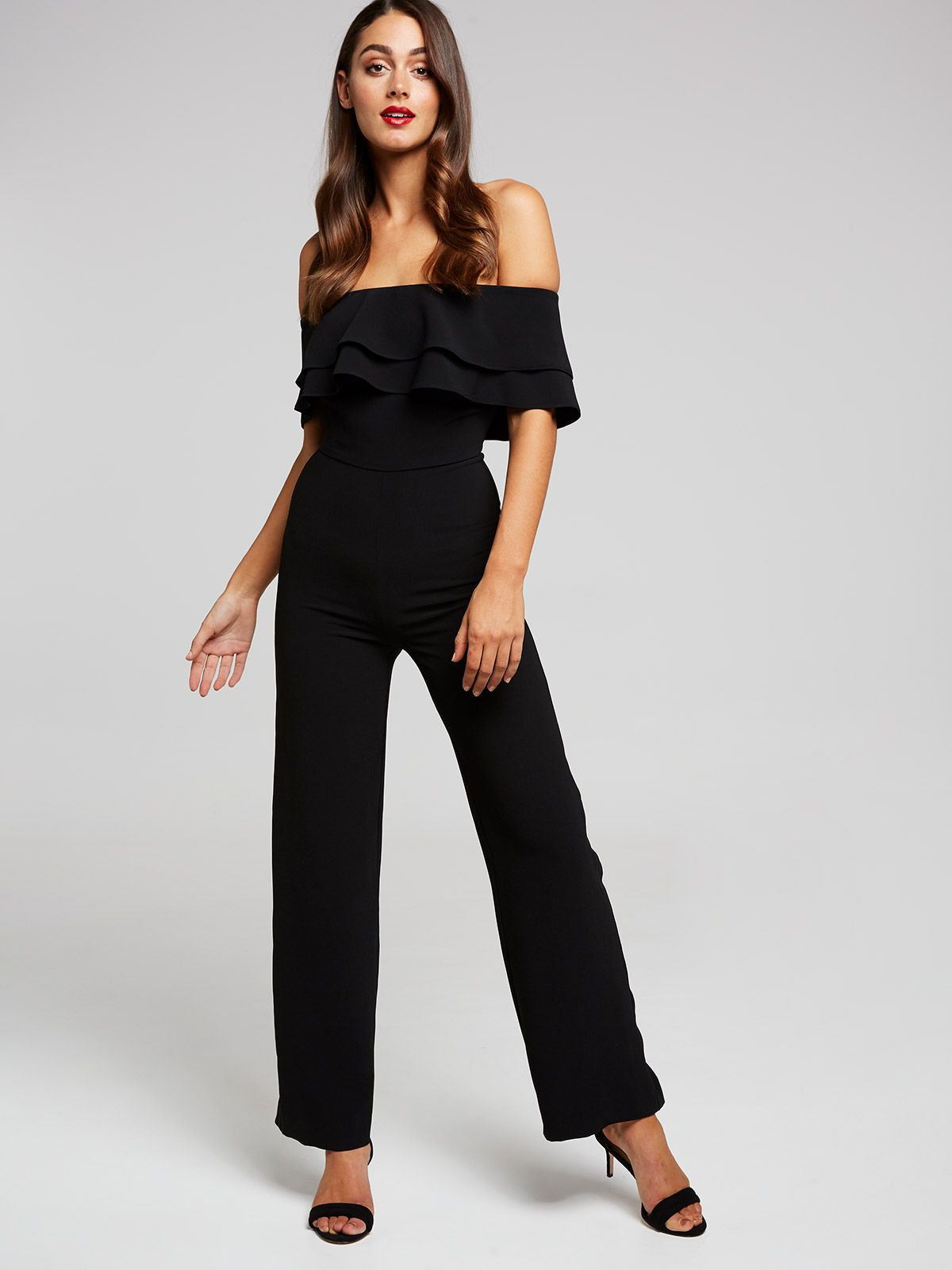 21b4a2eb9b3 Image for Natalia Off Shoulder Jumpsuit from Portmans
