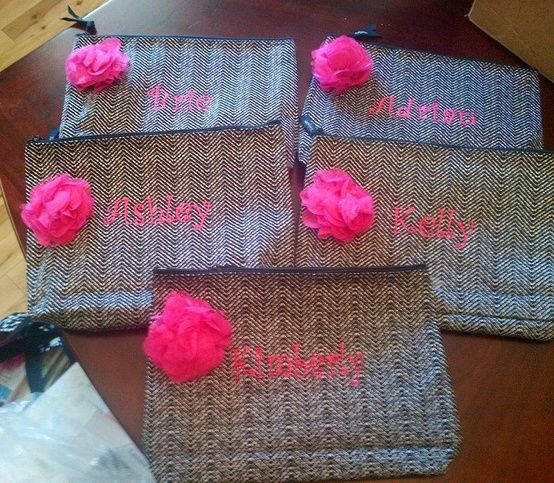 Thirty One Wedding Gift Ideas: Thirty-One Zipper Pouch And Rosset Clip ... They Make