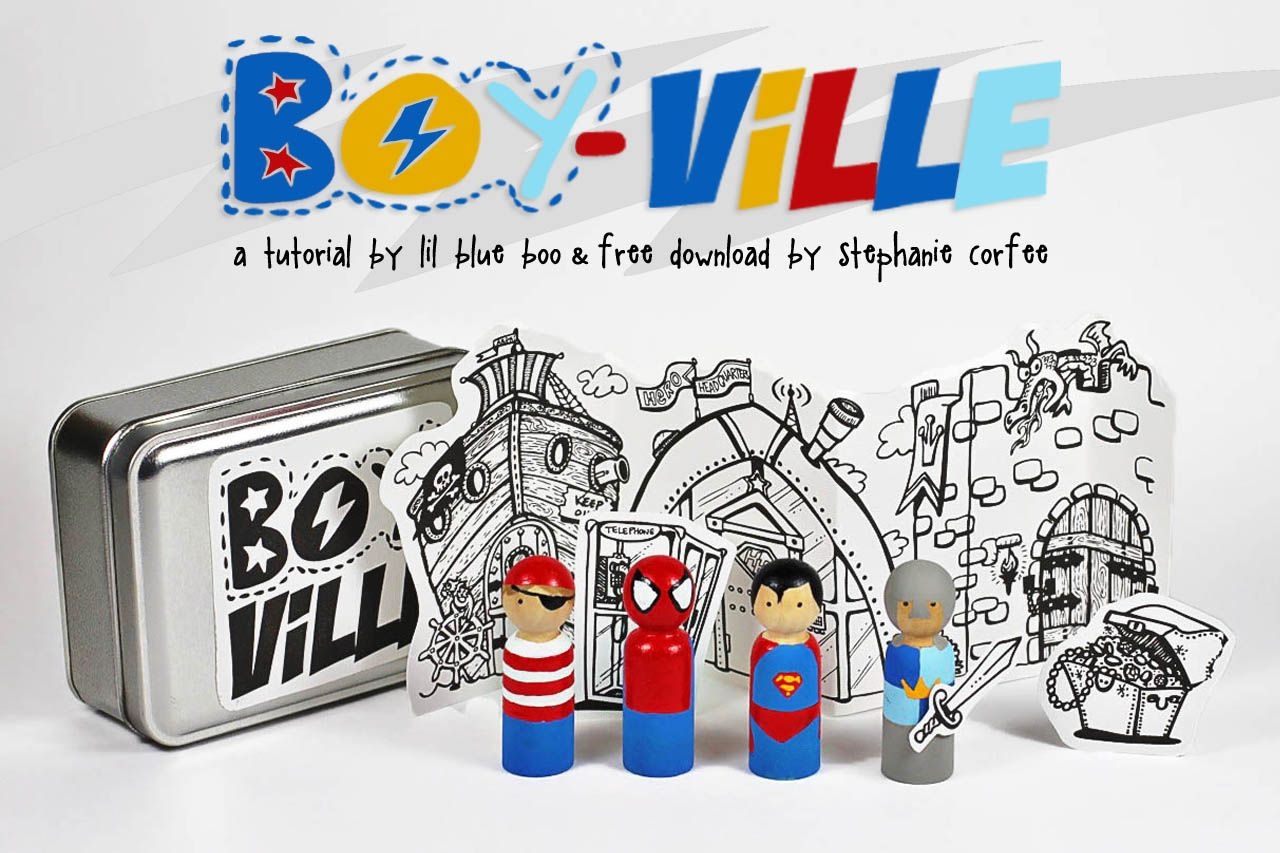boy-ville tutorial and download.