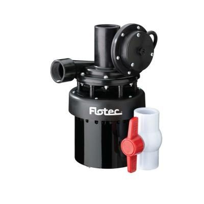 Flotec 1 4 Hp Utility Sink Pump Fpus1860a At The Home Depot