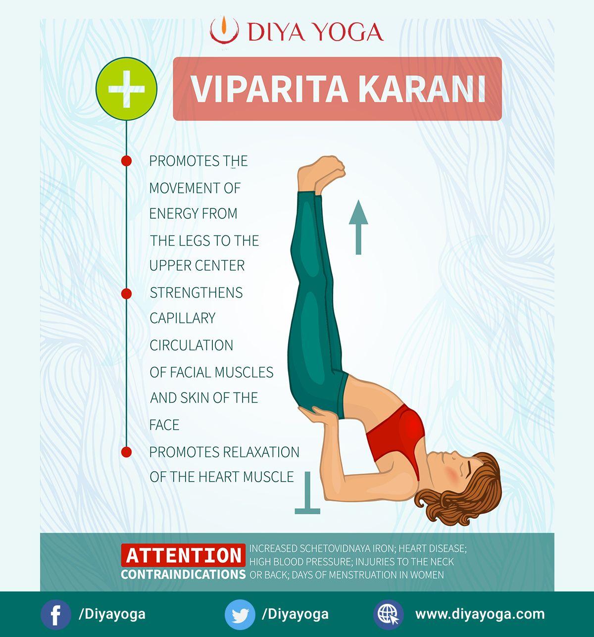 Viparita Karani For Hair Growth