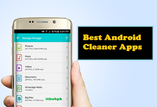 10 Best Android Cleaner Apps For 2018 | Clean Junk Files And Improve