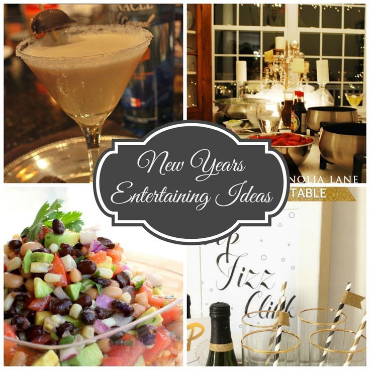 New Years Eve Entertaining Ideas--Recipes, Drinks and more ...