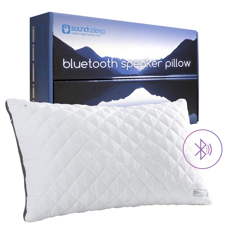 The Soundasleep is surprisingly hightech, for a pillow