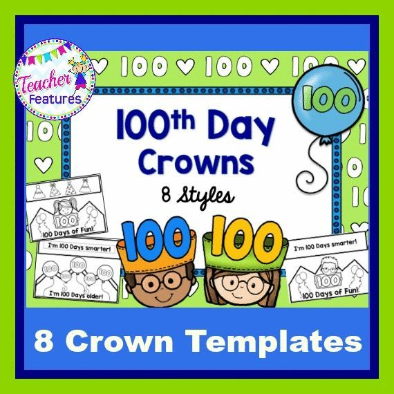 100th Day of School Crowns | Pinterest | Crown, Students and School