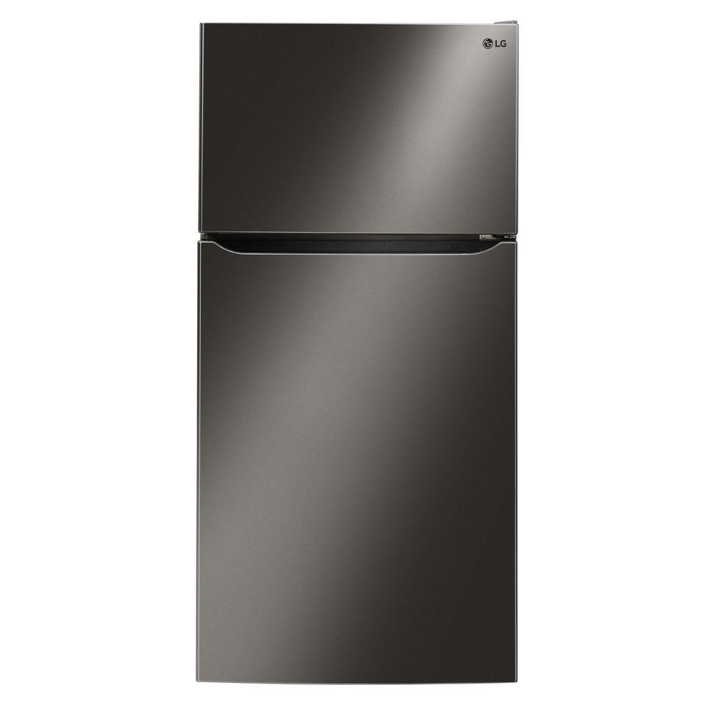 Lg Electronics 23 8 Cu Ft Top Freezer Refrigerator In Top Freezer Refrigerator Refrigerator Refrigerator Models