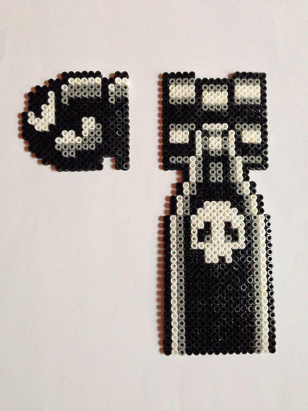 Bullet Bill - Mario perler beads by Nathan Tardy
