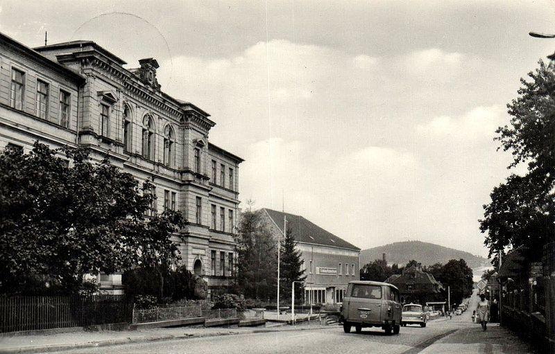 Großschönau in der DDR bei Zittau 1983