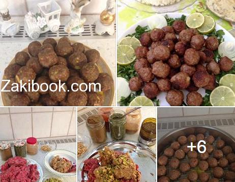 كبة قصابية حلبية بالخطوات المصورة زاكي Middle Eastern Recipes Food Recipes