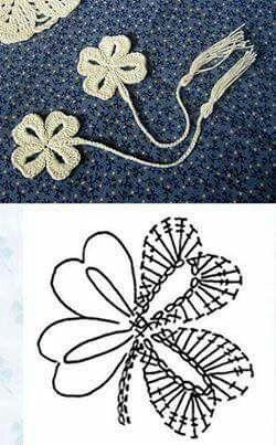 Flor de crochet