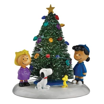 department 56 peanuts village ochristmas tree ace hardware holiday decor and more pinterest ace hardware department 56 and christmas tree
