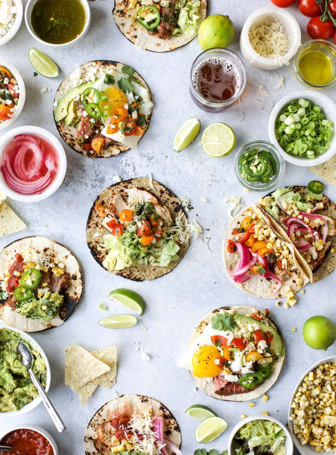 Let's Set Up a Taco Bar for Father's Day | Recipe | Food ...
