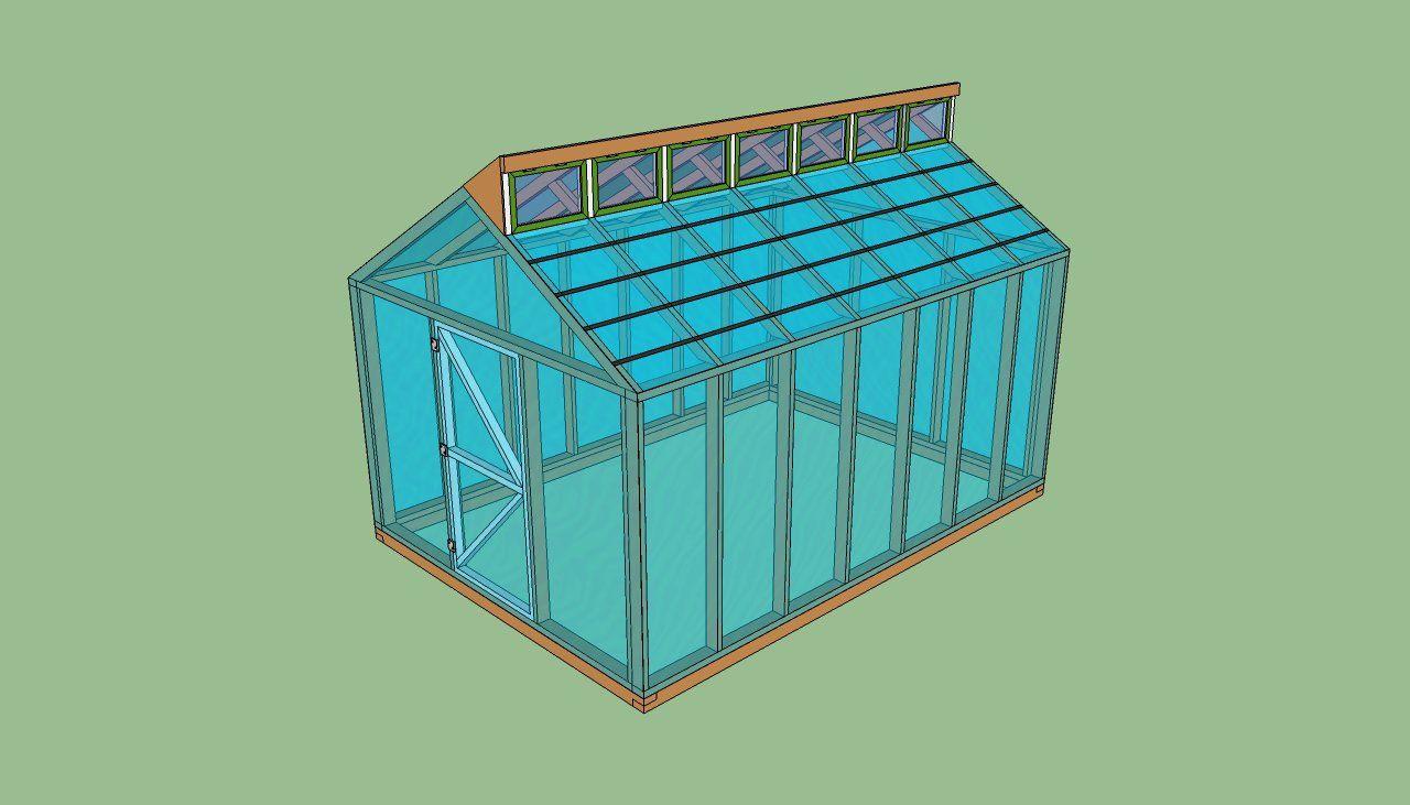 Free greenhouse plans | greenhouse | Pinterest | Greenhouse plans ...