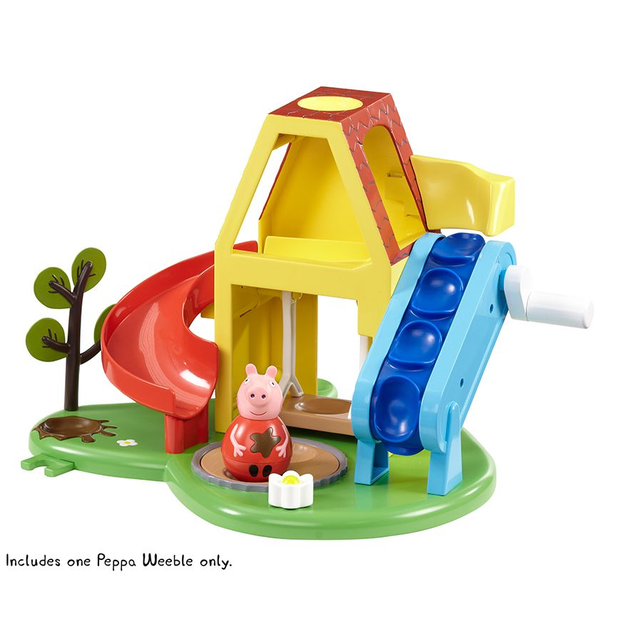 peppa pig weebles deluxe playhouse toys r us australia toys