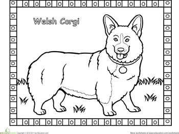 Corgi Coloring Page Corgi Doodle Cat Coloring Book Corgi Dog Breed
