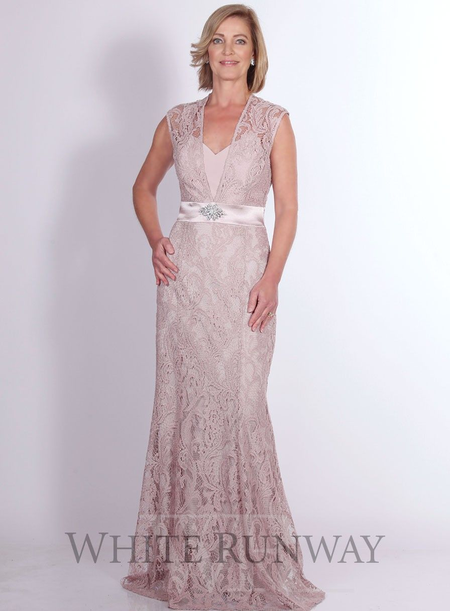 Aravan Lace Dress By Mr K An Elegent Full Length Dress By Mr K A