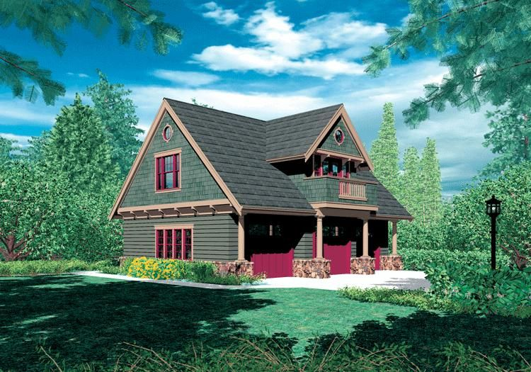 House Plan 2559 00658 908 Square Feet 2 Bedrooms 1