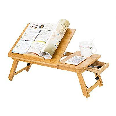 Best Zipom 100 Portable Bamboo Laptop Stand Foldable Desk 640 x 480