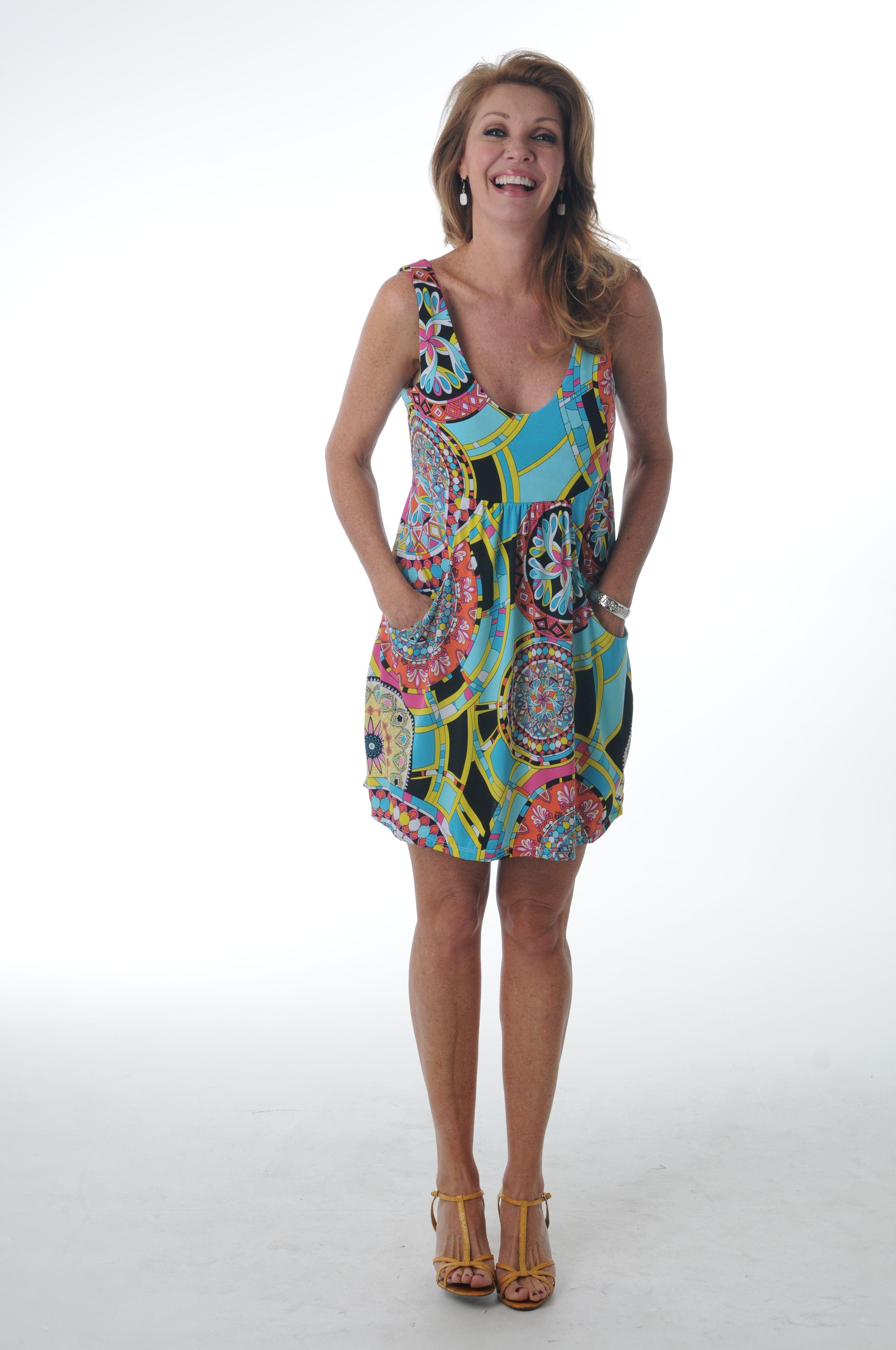 J. Valdi Swim Cover Up Dress