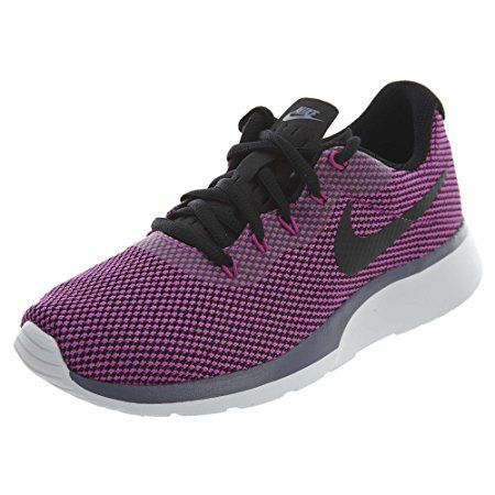 NIKE Tanjun Racer Women Sneakers Light Carbon/Black Hyper Magenta (9