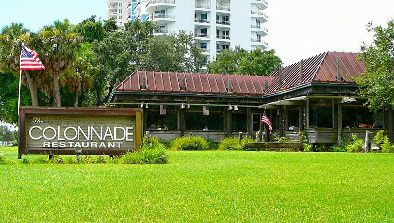 Colonnade Restaurant On Bayshore Blvd One Of The Oldest