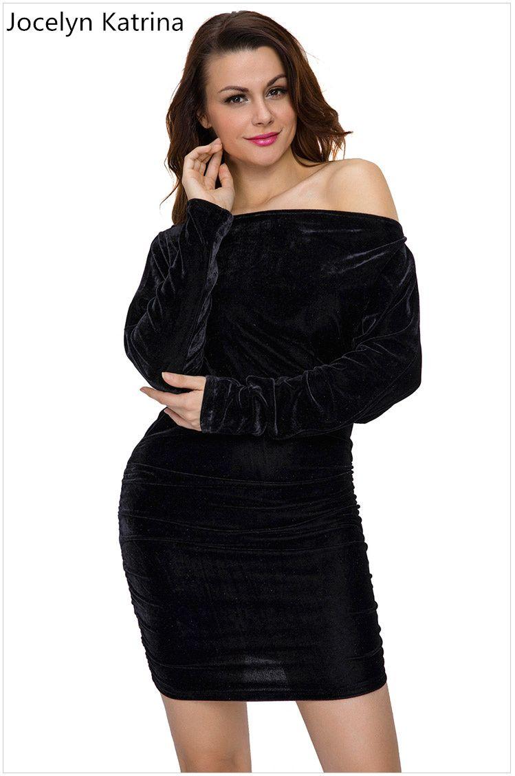 b9c5d3c201 Click to Buy    jocelyn katrina brand Package hip sexy long sleeve mini