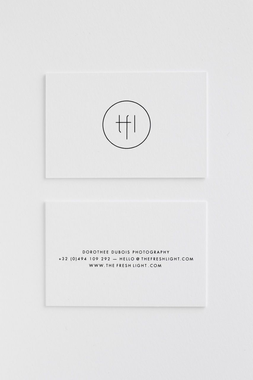 THE FRESH LIGHT | new logo and business cards! design by Studio ...