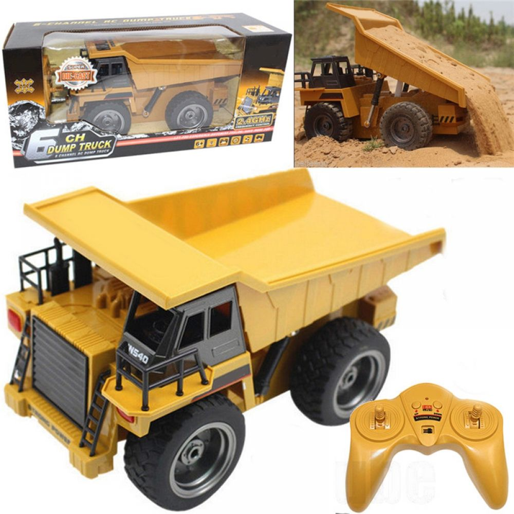 1:50 Alloy Articulated Dump Truck Toys Engineering Vehicle Model Metal Gift Boy