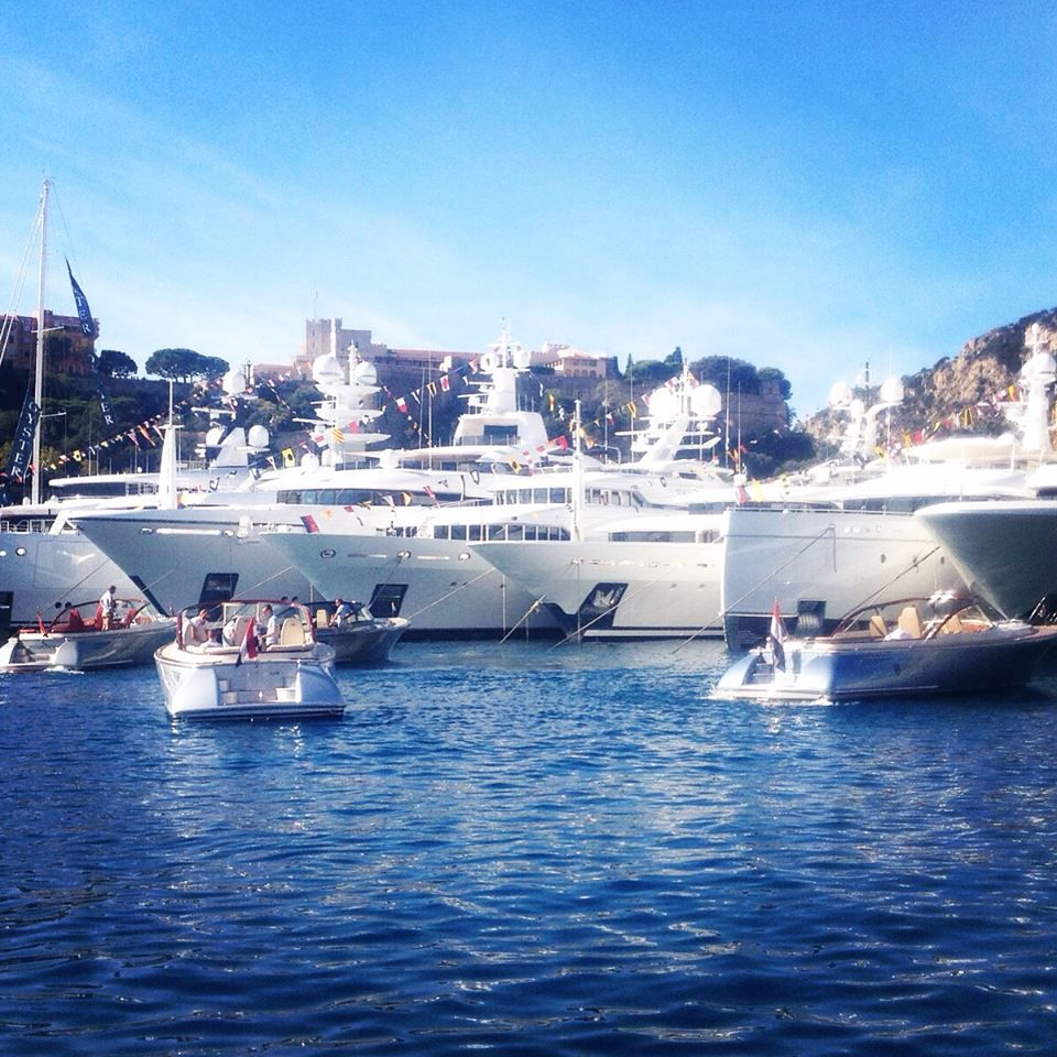 some specatacular scenes at Monaco Yacht Show 2015. yachts yachts yachts everywhere. from tenders, chase boats, luxury motor yachts, sailing yachts, superyachts and more!
