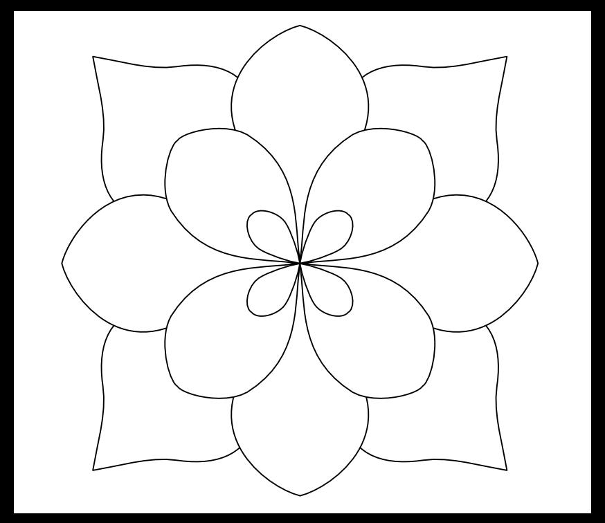 Simple Pattern Design Ideas: Simple Flower Pattern Please