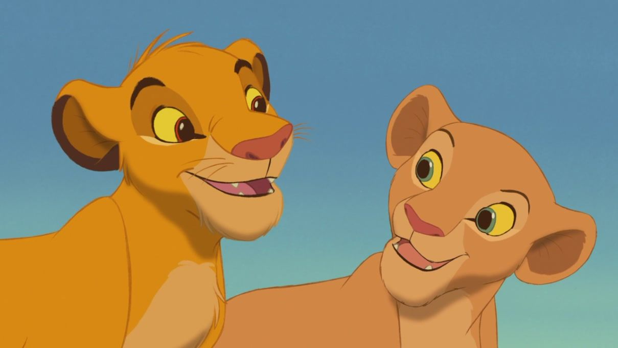 the lion king simba and nala | Simba-Nala-The-Lion-King ...