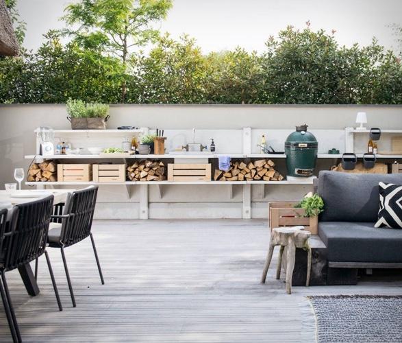Wwoo Concrete Outdoor Kitchen