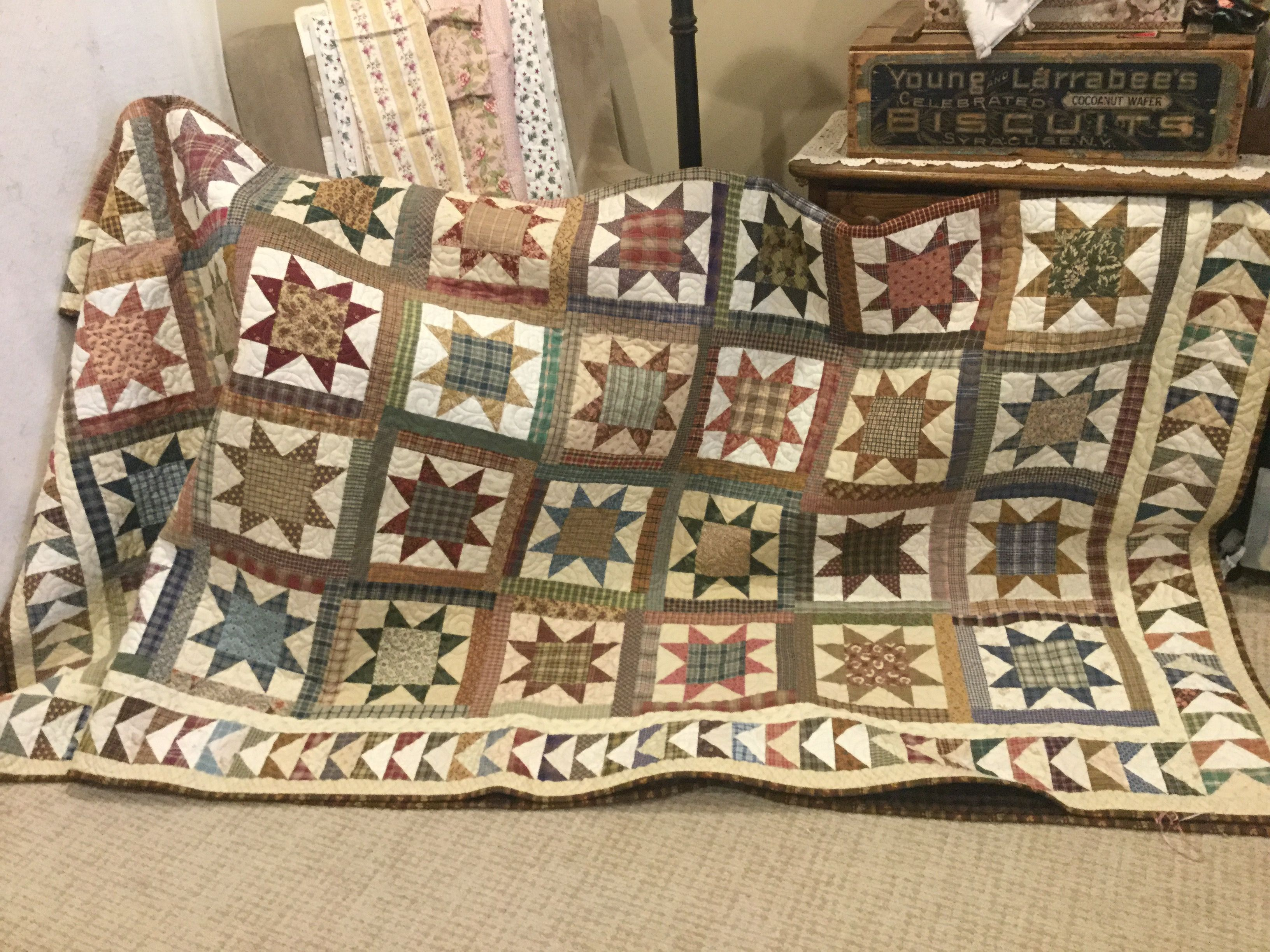 Love this  Simple, warm, and rustic 😍 | My quilting and