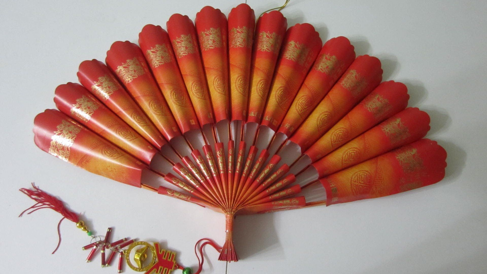 CNY TUTORIAL NO. 23 Red Packet (Hongbao) Paper Fan (New