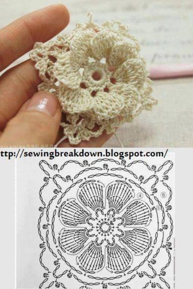 Wow that\'s pretty | Projects to Try | Pinterest | Tejido, Ganchillo ...