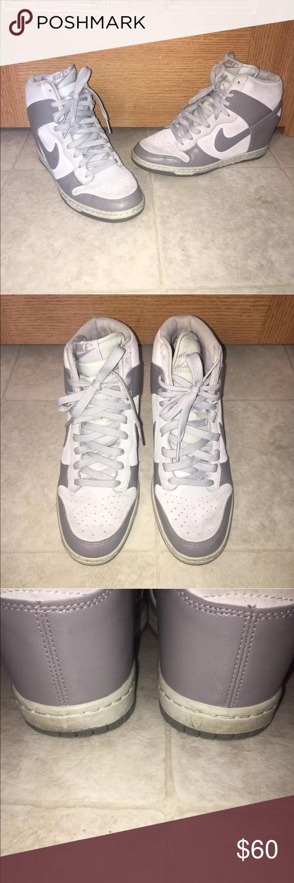 kup sprzedaż Kod kuponu kup popularne NIKE DUNK SKY HI Wedge Sneakers Size 9 528899 005 • ITEM ...