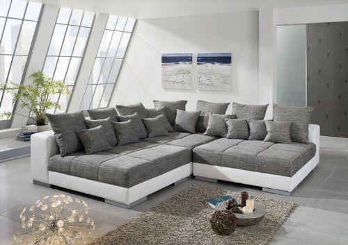 Ecksofa titanic sofaecke eckgarnitur sofa garnitur for Ecksofa amazon