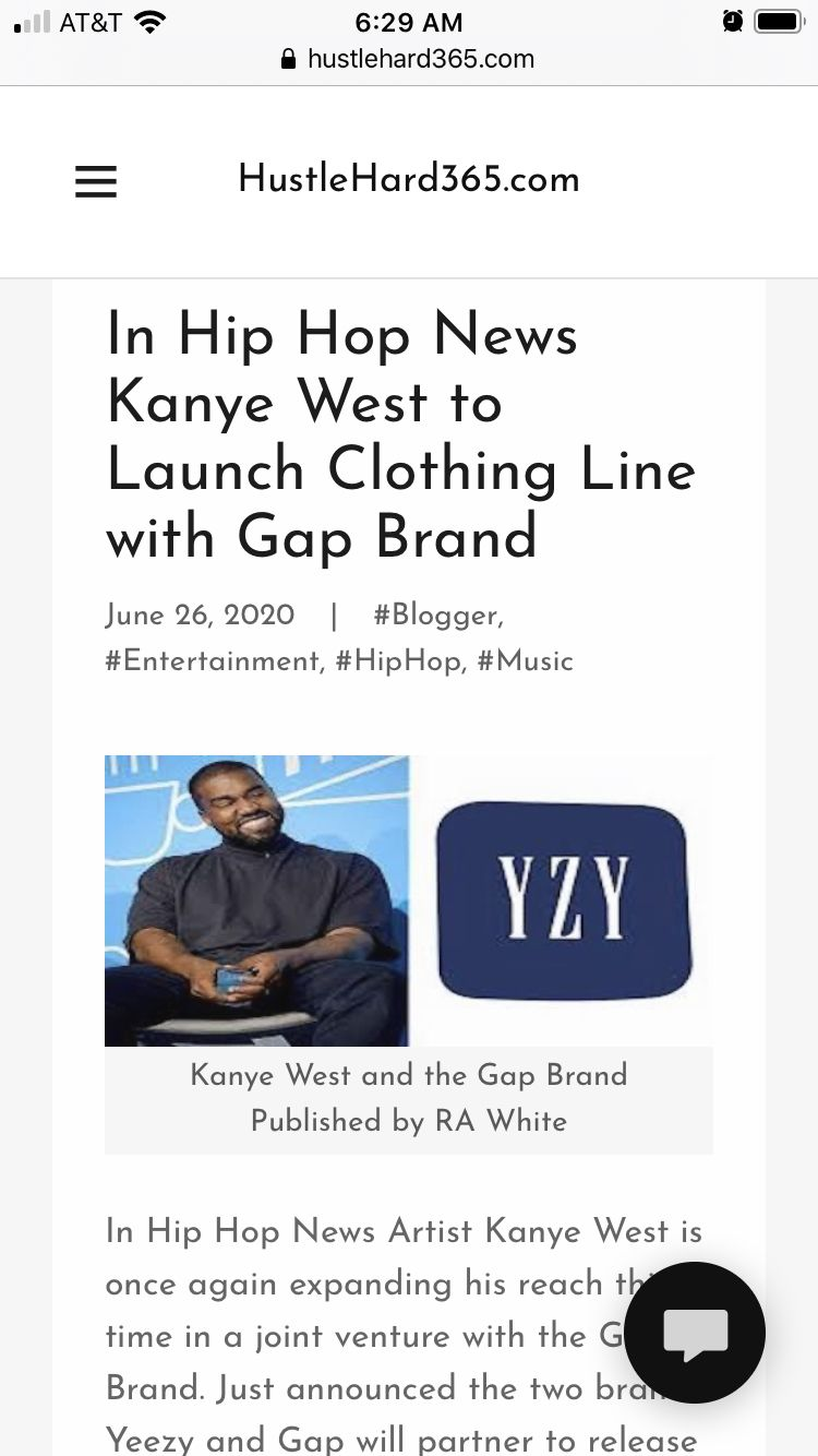 Kanye West And The Gap Brand To Launch A Clothing Line In 2020 New Kanye Hip Hop News Hip Hop