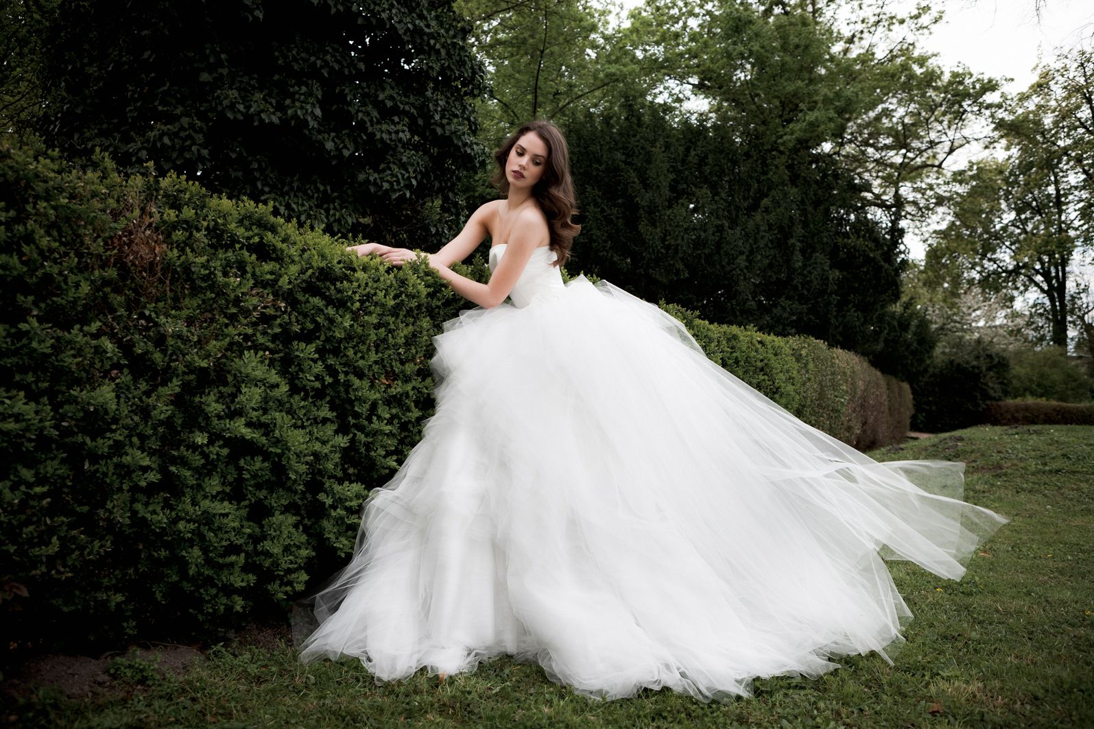 Daalarna Couture Wedding Dresses Campaign - SECRET COLLECTION