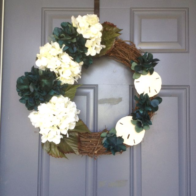 Momma Somers wreath 7/2/12