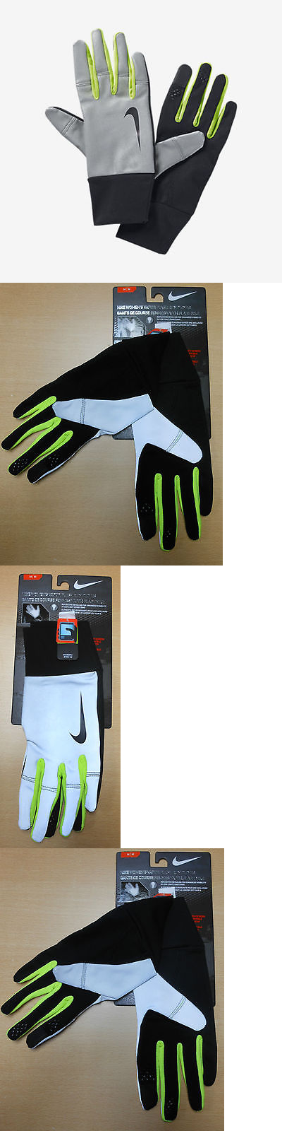 Running Gloves 179810: Nike Size L/G Vapor Flash Womens Running Gloves New  $65