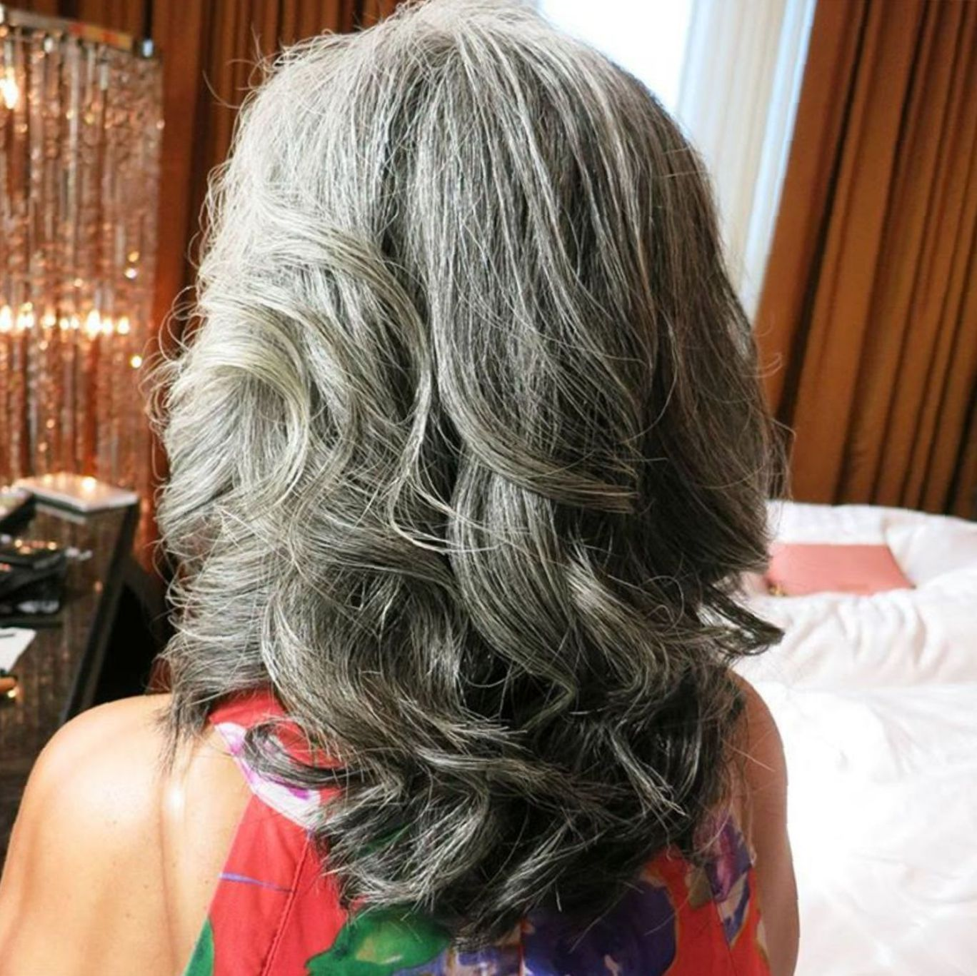 65 Gorgeous Gray Hair Styles Thick Hair Styles Hair Styles Grey Curly Hair