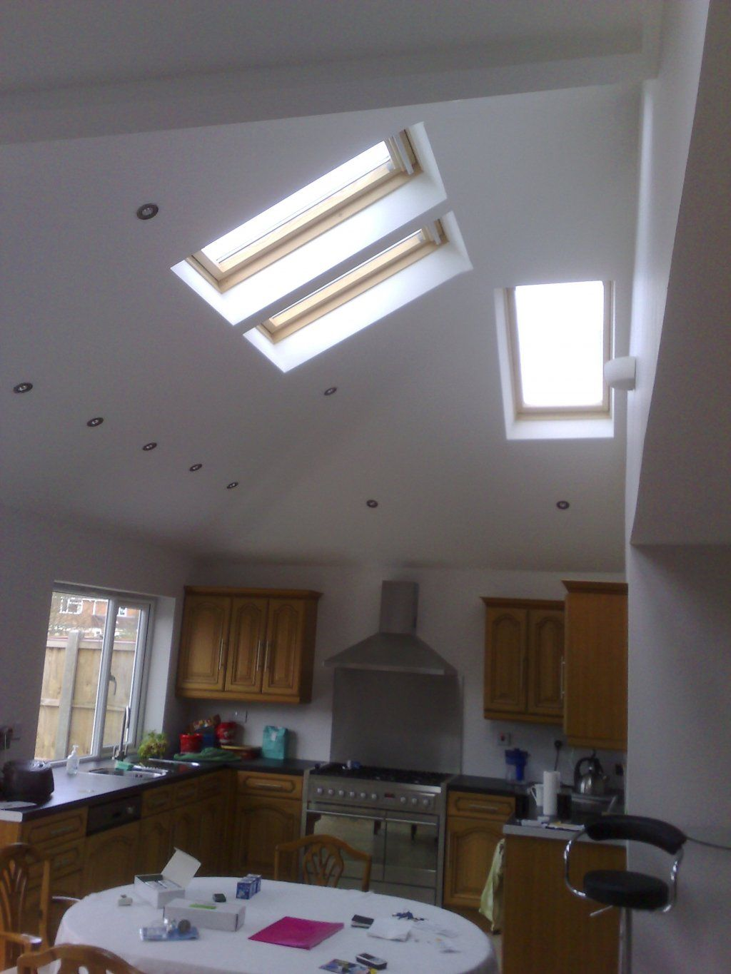 Open velux home pinterest aylesbury united fc ceilings and open velux vaulted ceilingslighting designlightsprofessional arubaitofo Images