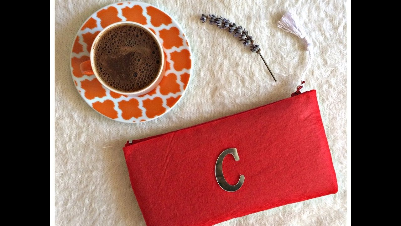 DIY | Kolay Kalemlik-Makyaj Çantası Yapımı