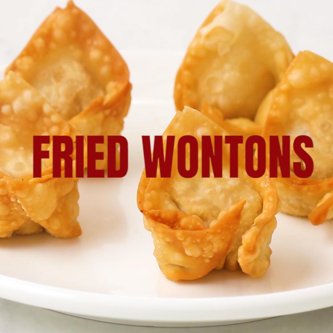 Fried Wontons Fried Wontons - crispy and homemade